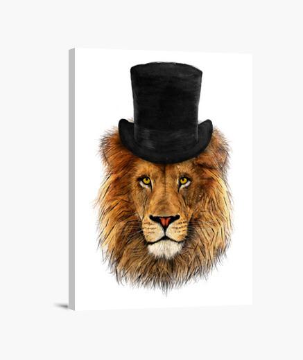 Lienzo Mr Lion