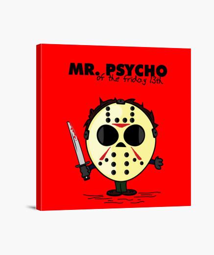 Lienzo mr. psicópata