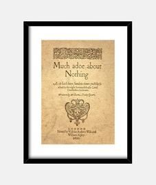 Much Ado About Nothing (prints)