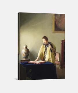 Mujer con libro (1909)