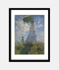 Mujer con sombrilla (1875)