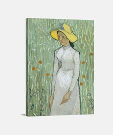 Mujer de blanco (1890)