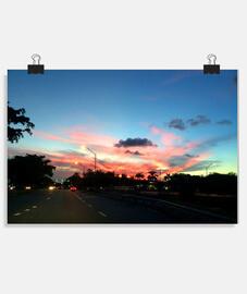 multicolor sky