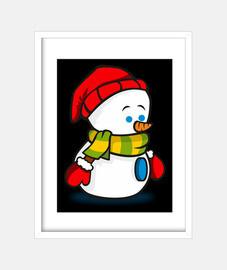 Muñeco de nieve.