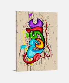 Música en graffiti