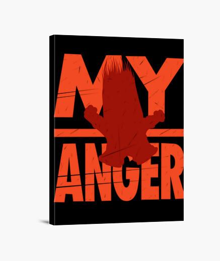 Lienzo My Anger