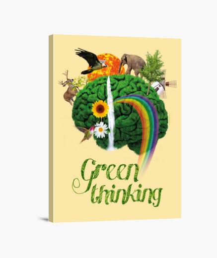 Nature - green consciousness - green...