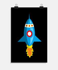Nave espacial infantil