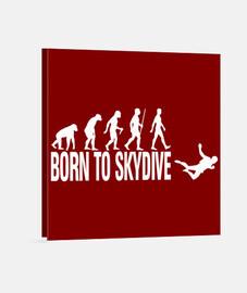 né à skydive