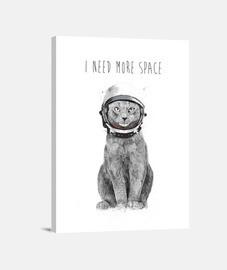 necesito más espacio