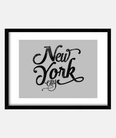 new york city tipografia