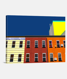 New York colourists buildings