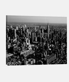 New York Manhattan cuadro blanco y negro