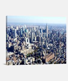 New York Manhattan cuadro color