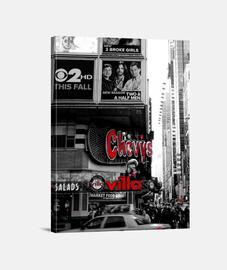 New York times square cuadro blanco y negro