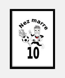 Neymar Cadre vertical 3:4 (30 x 40 cm)