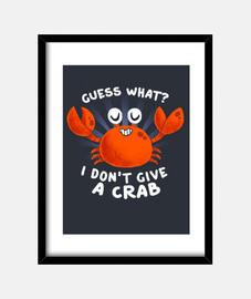 nicht eine krabbe druck geben