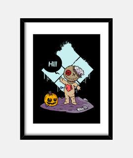 niedliches voodoo - bild