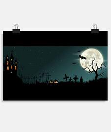 Night - Póster horizontal 3:2 - (30 x 20 cm)