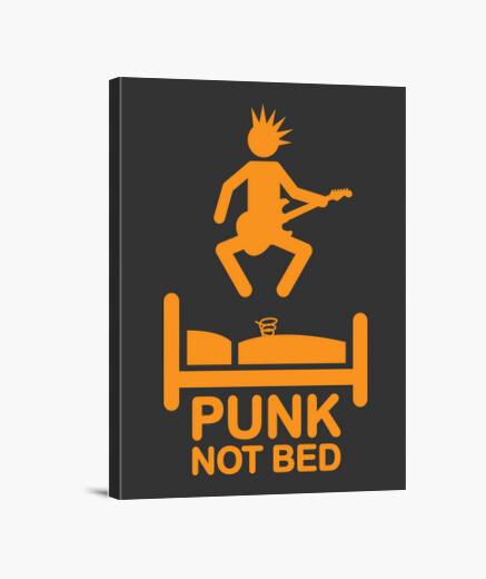 Lienzo no cama de punk