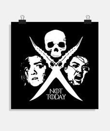 Not Today - Arya Stark (poster)