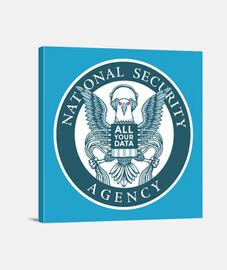 NSA, todos tus datos nos pertenecen.
