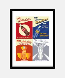 nukacolas poster - canvas -