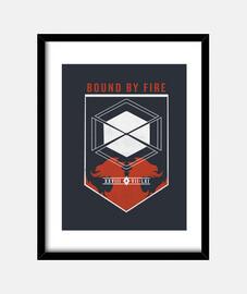 obligado por el destino de fuego