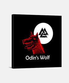 odin wolf y.es_049b_2019_odín wolf impression sur toile