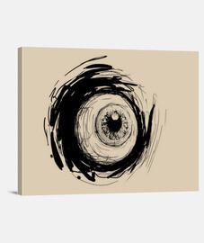 oeil noir