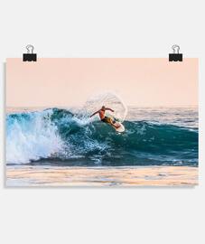Ola surfeada