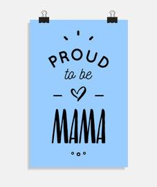 orgullosa de ser mamá