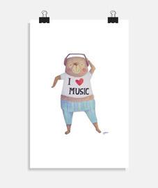 ours de musique