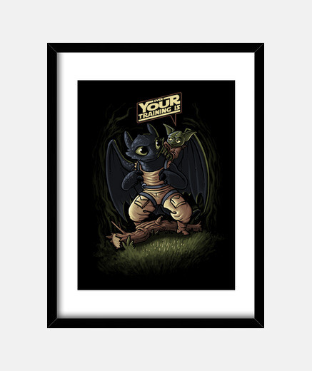 Over your training is! (collab Hartzack) print