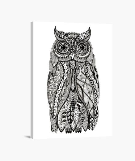 Owl 5 canvas