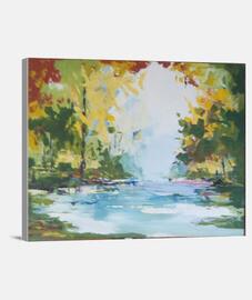 Paisaje Lienzo Horizontal 4:3 - (40 x 30 cm)