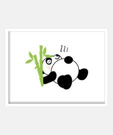 panda is sleepy