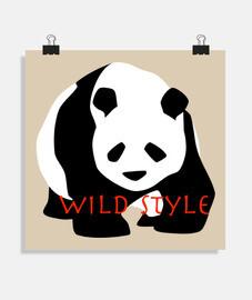 panda style wild