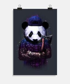 panda woodcutter