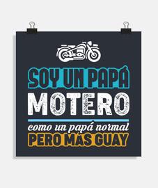 papà biker