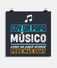 papà musicista