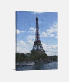 Paris Torre Eiffel al Oleo D&D