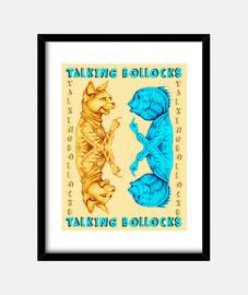 parler bollocks