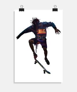 patinador patinador ciudad regalo skate