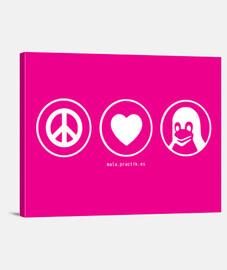 peace love linux @shopbebote