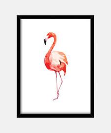 peach flamingo