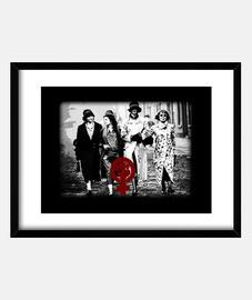Peaky Women. Cuadro con marco horizontal 4:3 (40 x 30 cm)
