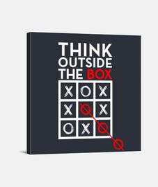 pensar fuera de la caja blanca