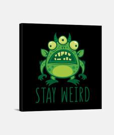permanecer extraño monstruo alienígena