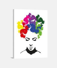 perruques illustration boîte